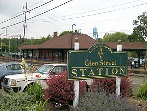 Glen Street Station; Glen Cove sign.jpg