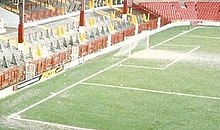 How Long Is A Football Pitch >> Football Pitch Wikipedia