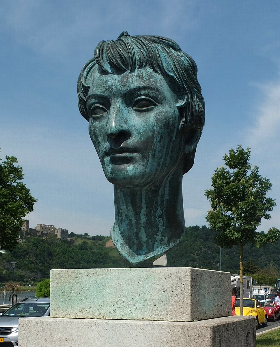 Goarshausen Heinrich Heine bust2