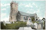Godshill Church, circa 1910