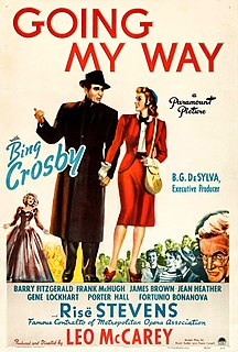 <i>Going My Way</i> 1944 film by Leo McCarey