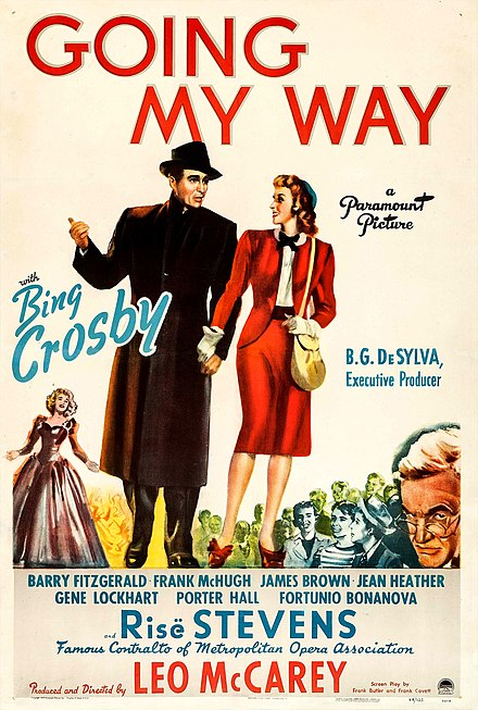 Poster du film Going My Way, 1944
