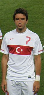 Gokhan in national team (11.08.2010).JPG
