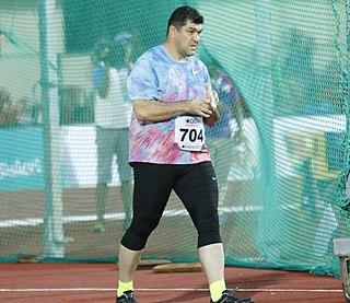 Dilshod Nazarov Tajikistani hammer thrower