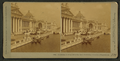 Gondolas at home from the Lion Fountain, Columbian Exposition, by Kilburn, B. W. (Benjamin West), 1827-1909.png