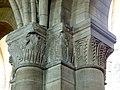 Gournay-en-Bray (76), collégiale St-Hildevert, bas-côté nord, chapiteaux du 3e pilier libre, côté nord-ouest.jpg