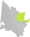 Gours (Gironde) dans son Arrondissement.png