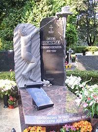 Grób Kamili Skolimowskiej.JPG
