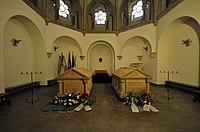 Grabstätte von Otto Fürst von Bismarck und Johanna von Puttkamer im Mausoleum Friedrichsruh.jpg