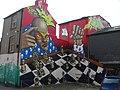 Graffiti Art, Kensington Street, Brighton (3) - geograph.org.uk - 786109.jpg