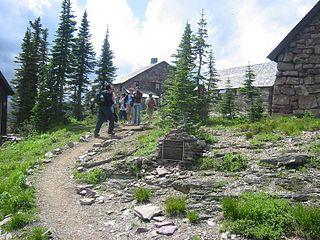 Glacier National Park Tourist Trails United States historic place