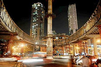 Grant Road - Grant Road Skywalk is the latest addition to the suburb and an iconic one in the city of Bombay