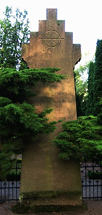 Grave of swedish bishop Wilhelm Flensburg.jpg