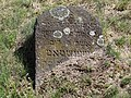Gravestone in Jewish Cemetery - Wschodnia Street - Bialystok - Poand (36229494326).jpg