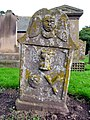 Gravestone in St Fergus' Kirkyard, Glamis - geograph.org.uk - 248329.jpg