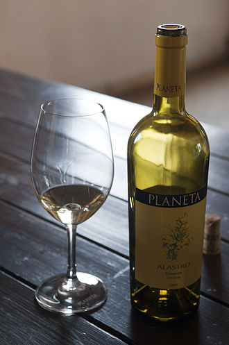 Garganega - A Garganega wine from Sicily where the grape is known as Grecanico.