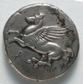 Greece, Corinth, 4th century BC - Stater- Pegasus (obverse) - 1916.984.a - Cleveland Museum of Art.tif