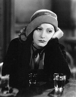 Greta Garbo Swedish actress