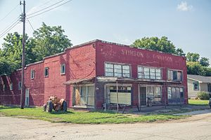 Griffin, Indiana - Image: Griffin, Indiana