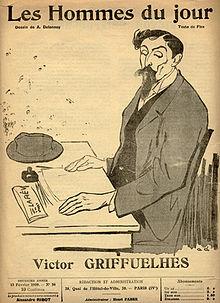 Hombres del día, No. 56, 13 de febrero de 1909. Dibujo deAristide Delannoy, texto deFlax.
