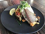 Grilled fish at Transit Tavern, Skygate, Brisbane Airport.jpg