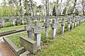 Groby żołnierzy Ludowego Wojska Polskiego na cmentarzu Wojskowym na Powązkach.jpg