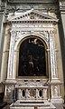 Guercino, martirio di san bartolomeo (1637) con ampi restauri 01 cornice del marrina.JPG