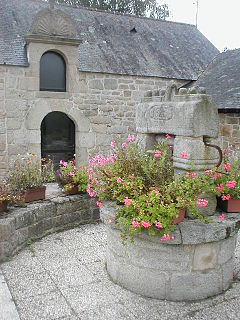 Guern,  Brittany, France