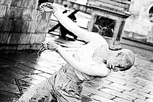 Butoh - Gyohei Zaitsu performing butoh
