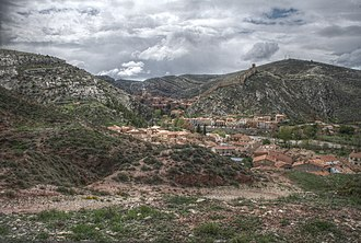 Sierra de Albarracín Comarca - View of Albarracín