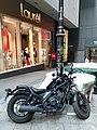 HK 中環 Central 皇后大道中 Queen's Road 戲院里 Theatre Lane motorbike parking December 2019 SS2.jpg