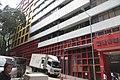 HK 灣仔 Wan Chai 石水渠街 Stone Nullah Lane 聖雅各福群會社區服務中心 St James' Settlement Community Centre facade October 2017 IX1 02.jpg