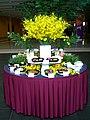 HK Arena Sunday AsiaWorld Expo Restaurant Food Table a.jpg