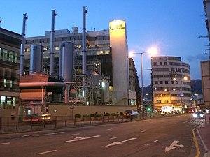 To Kwa Wan Road - Ma Tau Kok Gas Works along To Kwa Wan Road.