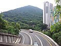 HK Mid-levels 摩星嶺 Mount Davis 薄扶林道 Pok Fu Lam Road building facades Pokfield Road September 2019 SSG 02.jpg