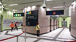 HK Sai Wan HKU MTR Station interior visitor A1 tunnel Dec-2014 LG2 006.jpg