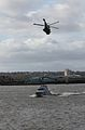 HMS Biter in Liverpool, Oct 09 with Sea King.jpg