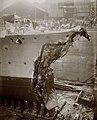 HMS Broke Jutland damage, starboard.jpg