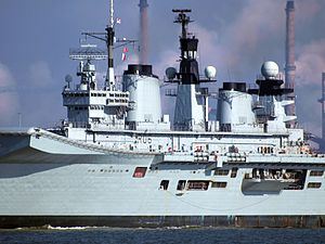 HMS Illustrious (R06) at Port of Amsterdam, 02Mar2009 p4.JPG