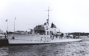 HNoMS Gyller May 1953.jpg
