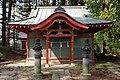 Haiden of Toishi-jinja (Kamikawadamachi, Numata).jpg