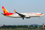 Hainan Airlines Boeing 737-800 B-2158 CTU 2011-7-7.png