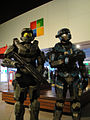 Halo Anniversary LA Game Launch - Spartan and Master Chief (6381866993).jpg