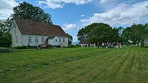 Halsnøy Abbey - Main building of Halsnøy Abbey