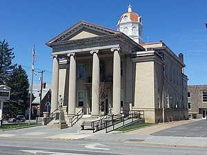 Romney, West Virginia - Image: Hampshire County Courthouse