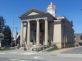 Romney, West Virginia - Image: Hampshire County Courthouse
