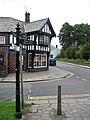 Handbridge Shop and Signpost - geograph.org.uk - 497893.jpg