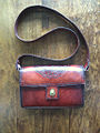 Handtooled leather handbag Celtic design.jpg
