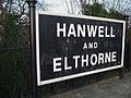 Hanwell station old signage.JPG