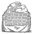 Harald Blåtands runesten af Ole Worm, 1643 (5781678832) (2).jpg